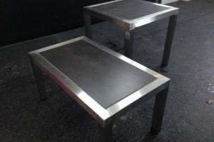 Table extérieure en acier inoxydable